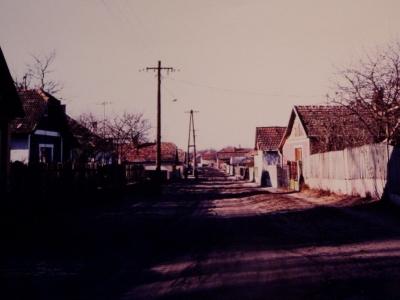 Monostorerdő utca a 80-as években